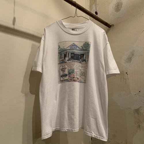 90s Print T-Shirt /USA