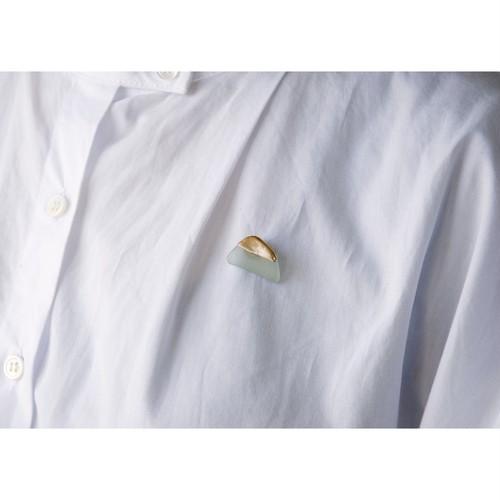 Atsuko Kobayashi【 umi-umi ブローチ〔に〕 】シーグラス / 限定 / limited / antique / vintage / brooch / handmade / original / japan