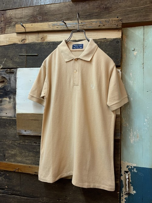 80's fred perry polo shirt