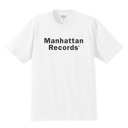 "JBP x MANHATTAN RECORDS "" COLLABO TEE "" (WHITE)"