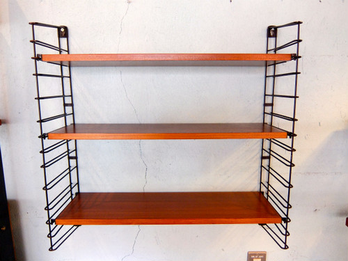 Tomado Wall Teak wood Shelf Holland