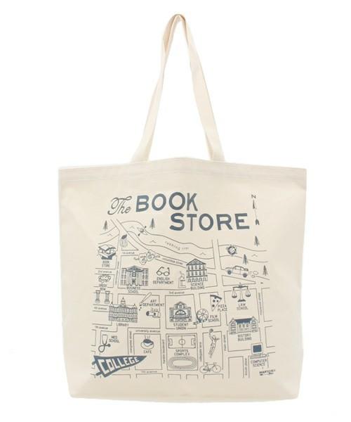 The BOOK STORE/ザ ブックストア BEACH TOTE   BS15S00200
