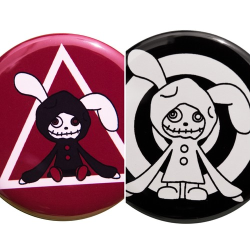 Dolly's Button Badges(57mm) Set - [缶バッジ]