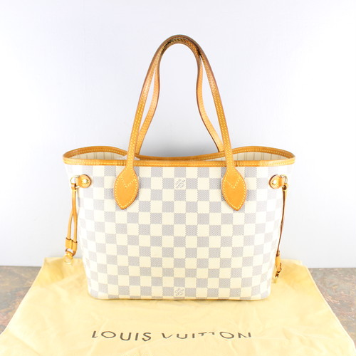 .LOUIS VUITTON N51110 VI0180 TOTE BAG MADE IN FRANCE/ルイヴィトンネヴァーフルPMダミエアズールトートバッグ2000000052960