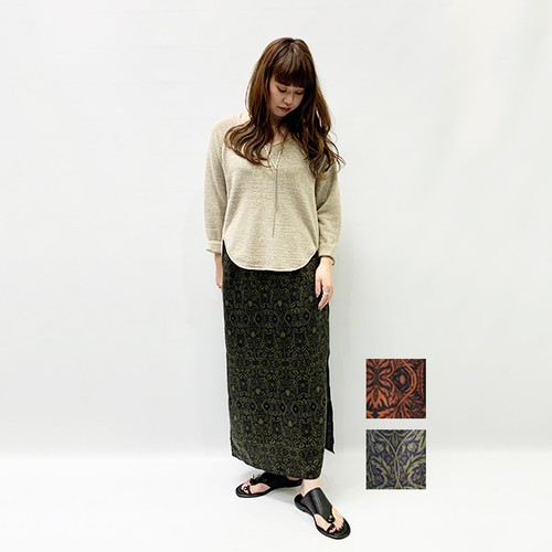 OUTERSUNSET(アウターサンセット) gather skirt 2020春物新作
