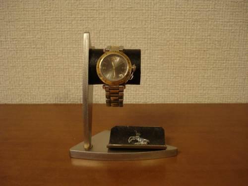 腕時計スタンド デザイン時計収納スタンド ブラックトレイバージョン No.120213