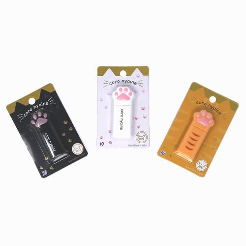猫テープのり(コロニャイン肉球テープのり)全3種類