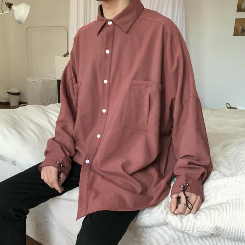 フロントポケットルーズシャツ BL4642