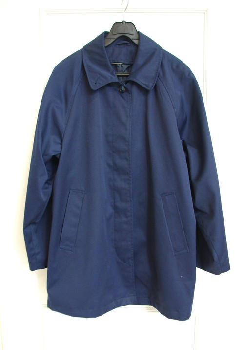 【Unisex】Casual Navy Coat