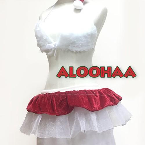クリスマス衣装 モコモコサンタブラ