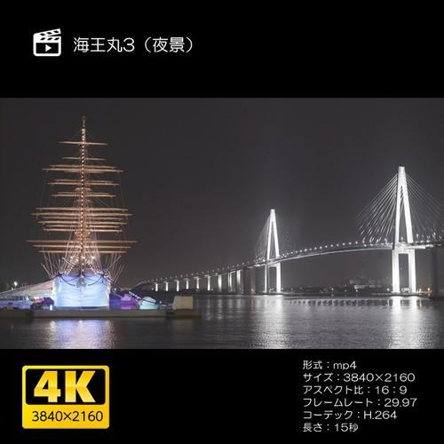 海王丸3(夜景)