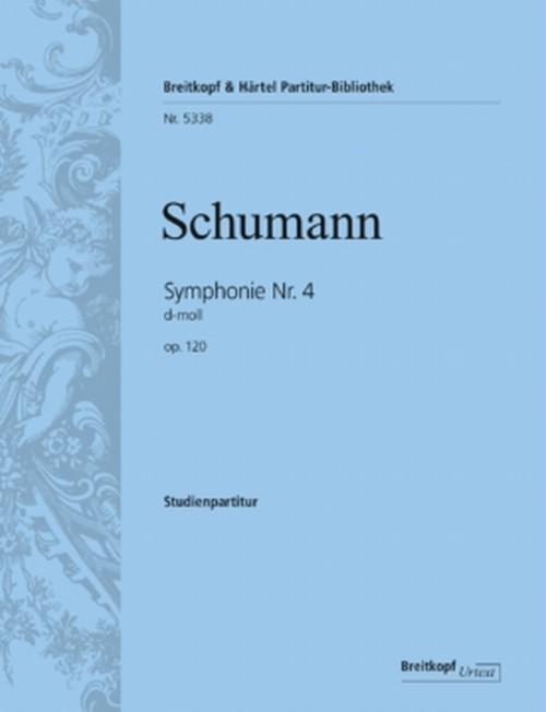 シューマン:交響曲第4番 ニ短調 Op.120/ミニチュアスコア