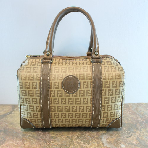 .FENDI ZUCCA PATTERNED BOSTON BAG MADE IN ITALY/フェンディズッカ柄ボストンバッグ 2000000035369