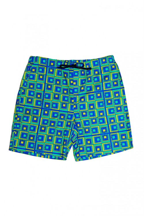 Men's Pants (Green × Blue)