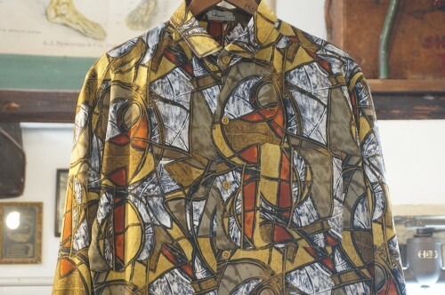 early 70's TAILOR Sum geometric-print Shirt
