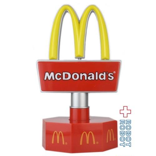 マクドナルド 回転看板 ロータリーサインライト 箱付 可動