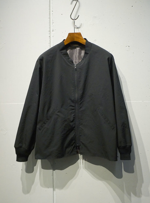 LAMOND Short Type Over Blouson ブラック