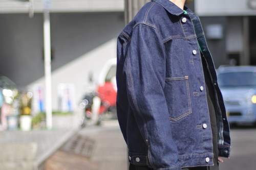 【ORDINARY FITS】DENIM JACKET 1st one wash