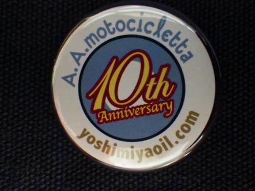 10th Anniversary Badge/32ø #01