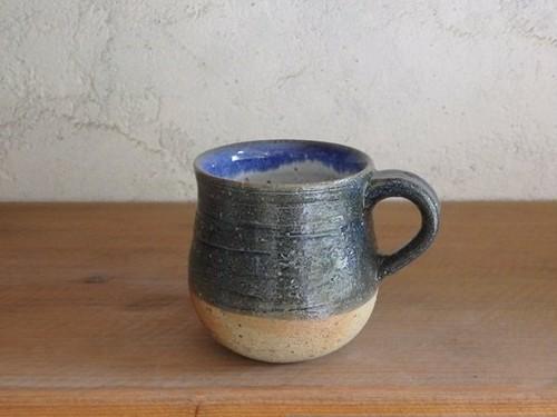 石土コーヒーカップ・紺