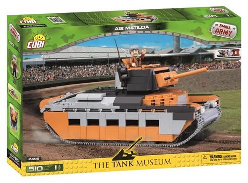 COBI #2495 マチルダII歩兵戦車 (Matilda Mk.II)
