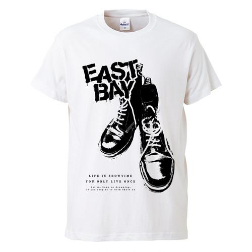 8ホールTシャツ / 白
