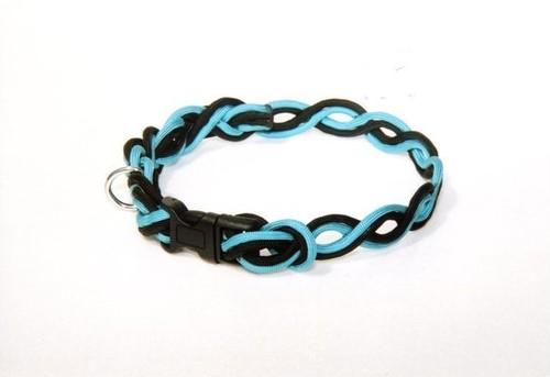 アイロープ 小型~中型犬用 カラフルパラコードワンタッチ首輪 (2色)