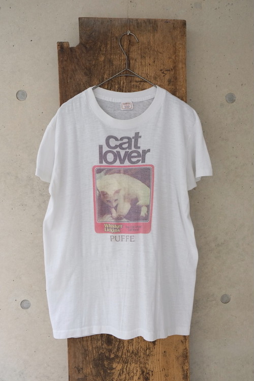 cat lover T-shirt.