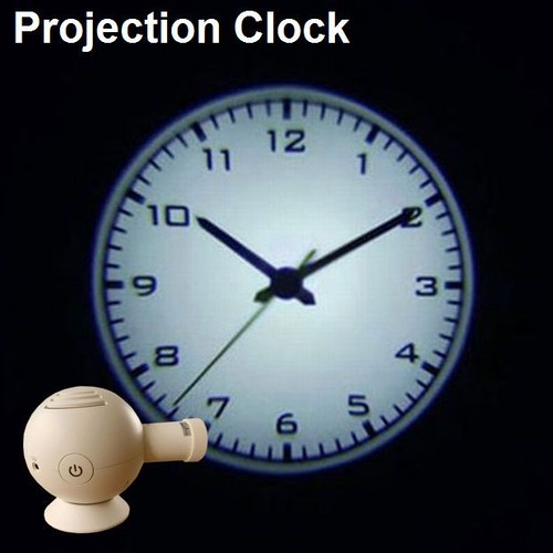 "Projection Clock ""Arabic"""