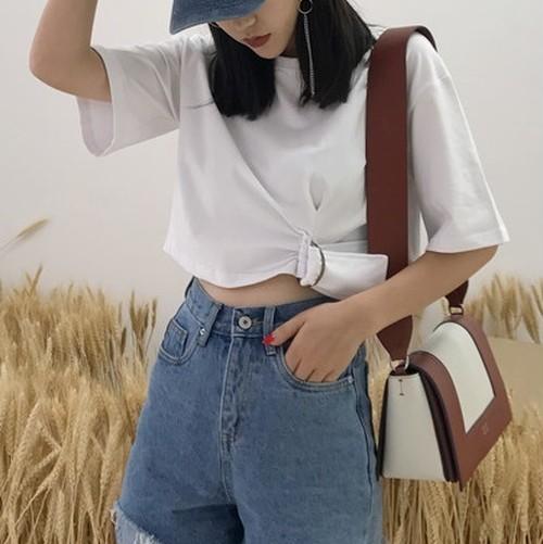 【お取り寄せ商品】waist belt tops 6393