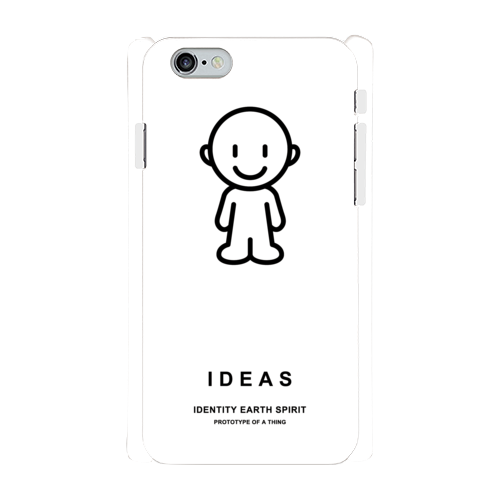 IDEAS/iPhone6/6sケース 801-ホワイト