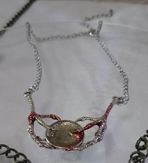 【真月亭】122ドラゴンの鏡ネックレス(1/3ドール用)