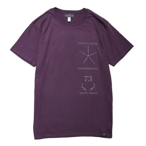 quolt REFLECTION TEE / クオルト Tシャツ / PURPLE / 901T-1184