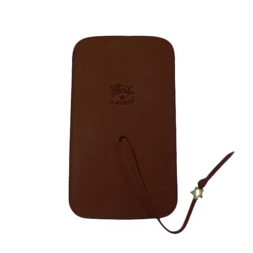 イルビゾンテ IL BISONTE スマートフォンケース メンズ レディース C0951-P-869 ブラウン