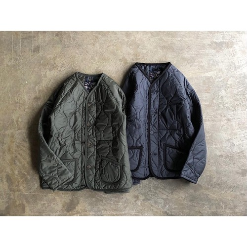 LAVENHAM  (ラベンハム) 『METTINGAM』Army Quilting Jacket