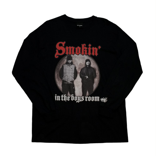WasHere x SMOKIN' IN THE BOYS ROOM L/S TEE