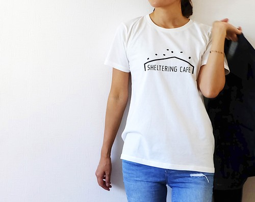 【SPECIAL SALE!】SHELTERING CAFE _ Tシャツ [unisex]