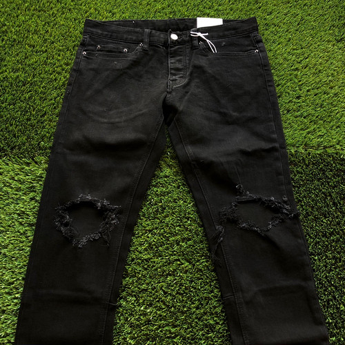 【MNML】 -ミニマル-M1 STRETCH DENIM BLACK