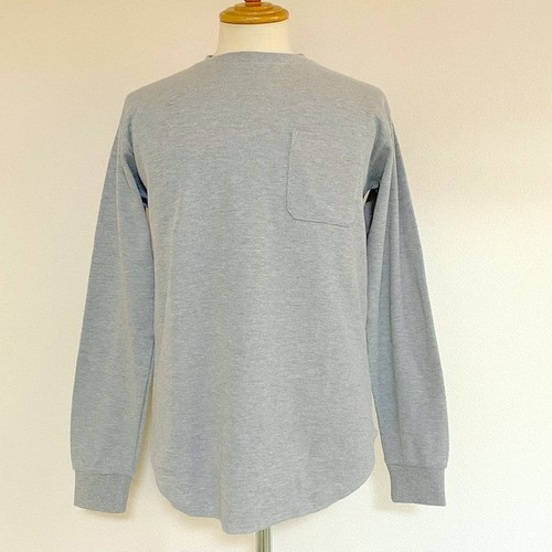 Thermal Cut & Sewn Gray