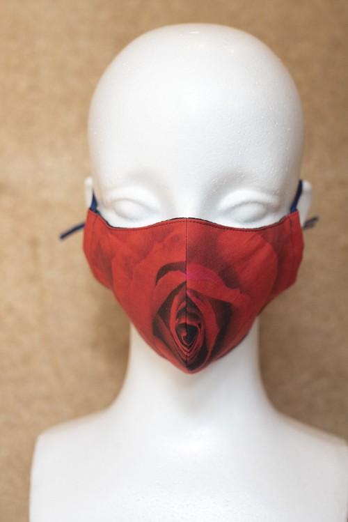 オリジナルマスク  赤バラ