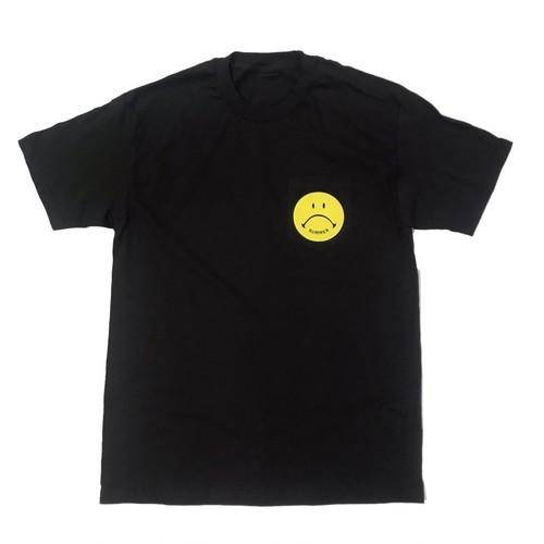 Bummer California - SAD FACE POCKET T-SHIRT,black
