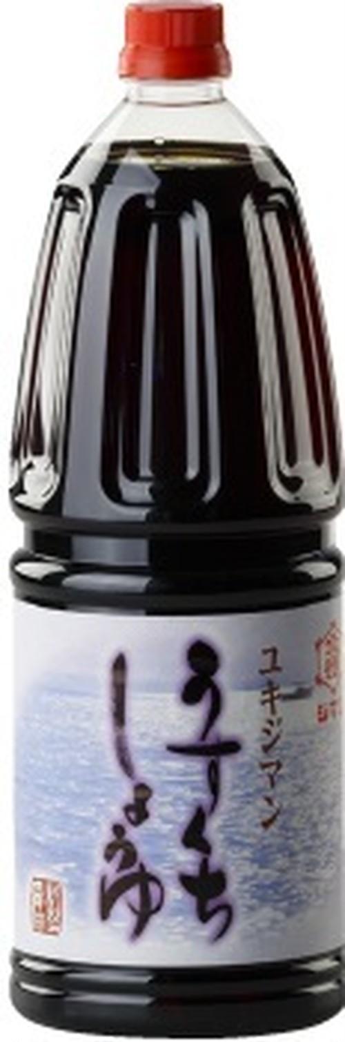 ユキジマンうすくち醤油 1.8L×6本