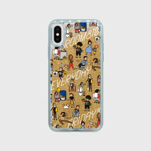 グリッターiPhoneケース ROOM810