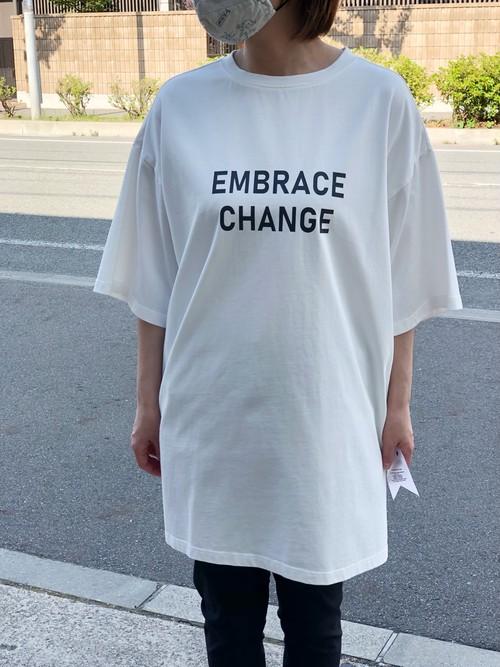 Dignite Collier/802313/後染めTシャツ(オフホワイト)
