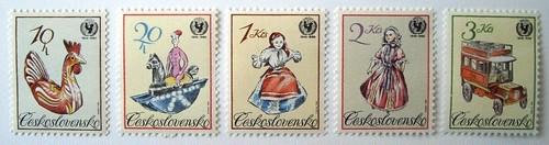 ユニセフ40年 / チェコスロバキア 1986