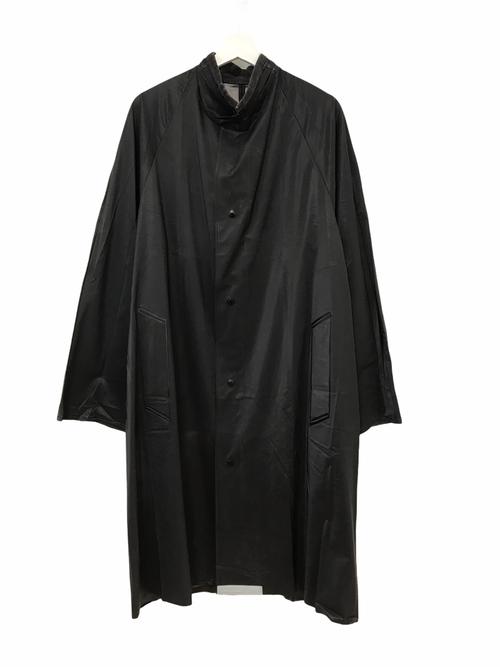 Dead Stock Swedish Army Black Rain Coat 46