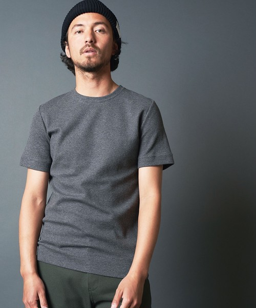 CTN RIVERSIBLE KNIT C/N S/S
