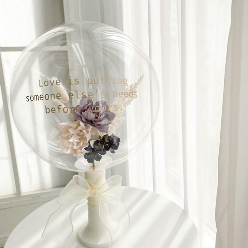 Bubble bouquet-Aile-