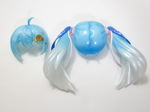 【SALE】【1250】 雪ミク Snow Parade Ver. 髪パーツ ツインテール ねんどろいど