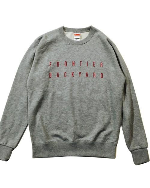 FBY LOGO SWEAT Gray【受注生産商品】